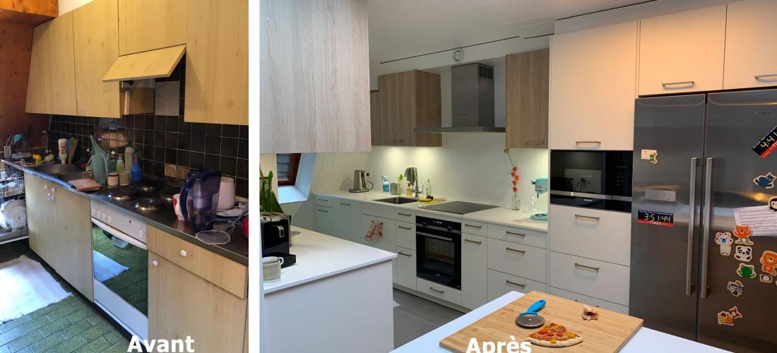 Rénovation cuisine – novembre 2020